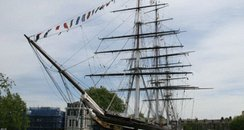 Cutty sark before the fire