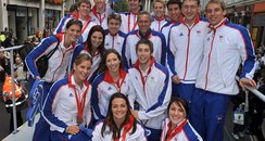 The Team GB Olympic and Paralympic swimming team