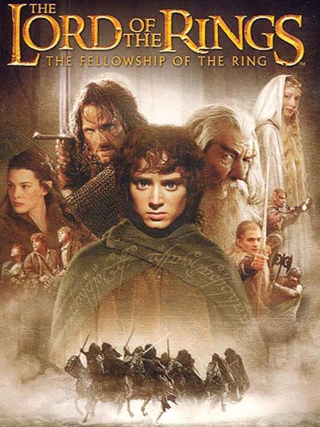 Movie cover of lord the rings