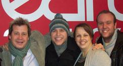 Olly Murs with Martin and Soon