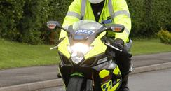 Avon and Somerset Police motorbike