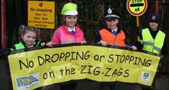 Zig Zag protest