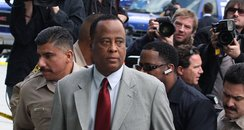 Conrad Murray in court