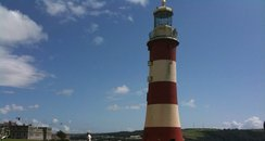 smeatons tower, hoe, plymouth