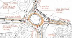 Plans for Junction 8