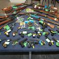 Firearms handed in during amnesty