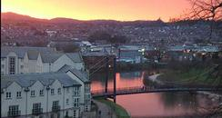 Exeter Sunset