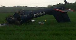 Plane crash near Brackley