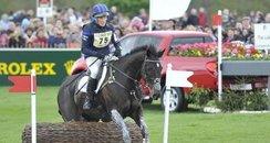Zara Phillips riding Glenbuck
