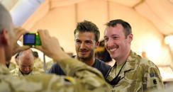 David Beckham in Afghanistan