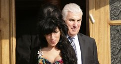 Amy Winehouse and her father Mitch