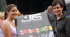 JLS meet and greet