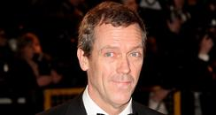 Hugh Laurie on the red carpet