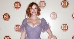 christina hendricks on the red carpet