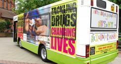 Surrey Police 'Drugbuster' bus
