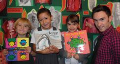 Children from Elm Grove primary school in Brighton