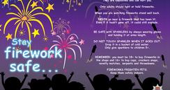 ESFRS Firework Poster