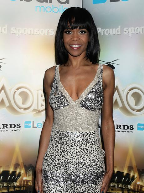 Michelle Williams at the MOBO Awards
