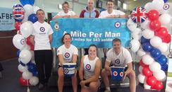 Pictures Of 'A Mile Per Man'