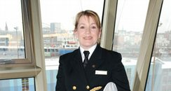 Captain Inger Klein Olsen Cunard