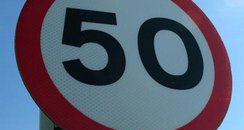 50 speed limit