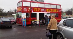 Stevenage Health Bus