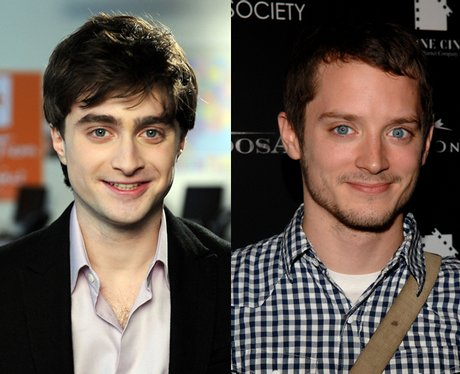 Daniel Radcliffe and Elijah Wood - Lookalike Celebrities ...