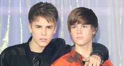 Justin Bieber waxwork UK