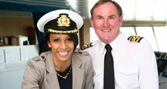 Dame Kelly Holmes takes control of ferry