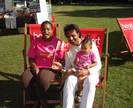 Heart visited Race For Life Crawley at Tillgate Pa
