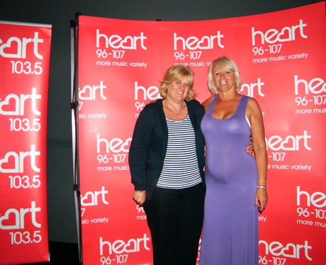 The Heart Angel Angels visited the first screening