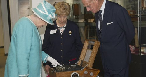 The queen at bletchley