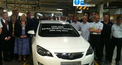 100,000th car rolls off the production line
