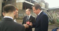David Cameron in Bristol
