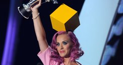 Katy Perry Wins 2011 MTV VMA