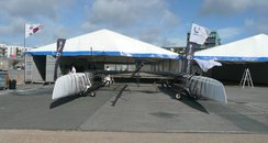 Team Korea in the pit area