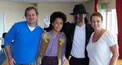 Martin and Su with some of the Cast from Thriller