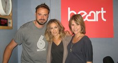 Sarah Jessica Parker with Jamie and Harriet
