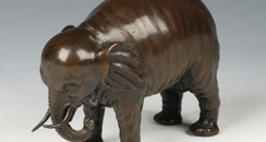 The bronze elephant fetched £59,750