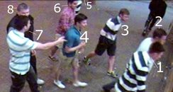 CCTV images after sex assault