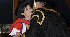 Dannii Minogue Honorary Degree