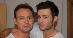 Jason Donovan and Harry Judd
