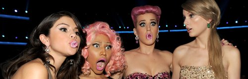 Katy Perry and Nicki Minaj American Music Awards