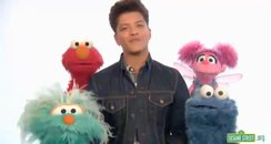 bruno mars on sesame street