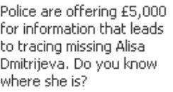Alisa Facebook Ad