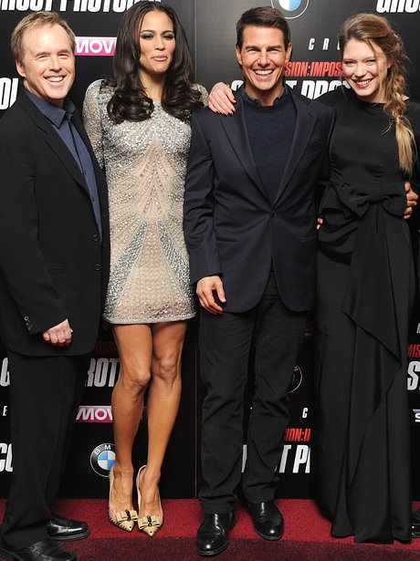 The cast of Mission Impossible
