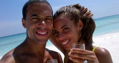 Marvin and Rochelle engaged in Antigua