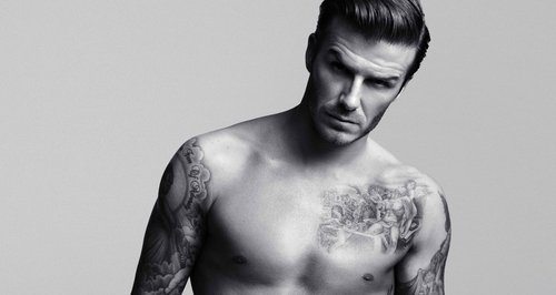 David Beckhams bodywear collection for H&M