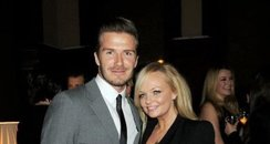 David Beckham and Emma Bunton