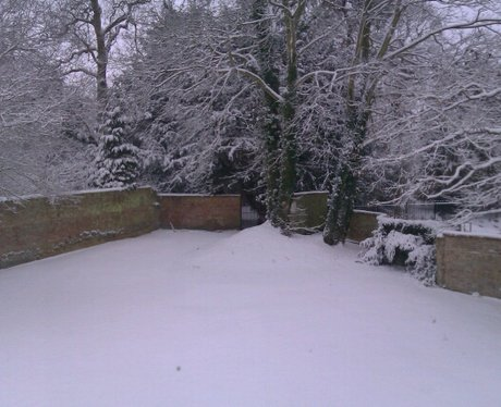 Snow in Kimbolton
